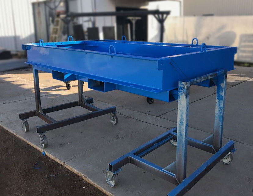 Table Top For Machine Shop Amalfi Powder Coating