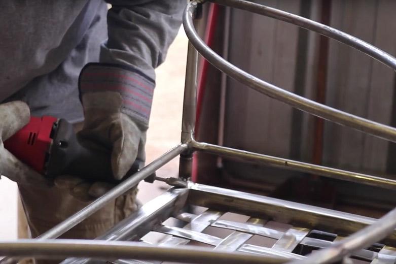 Refurbish Metal Patio Furniture Amalfi Powder Coating